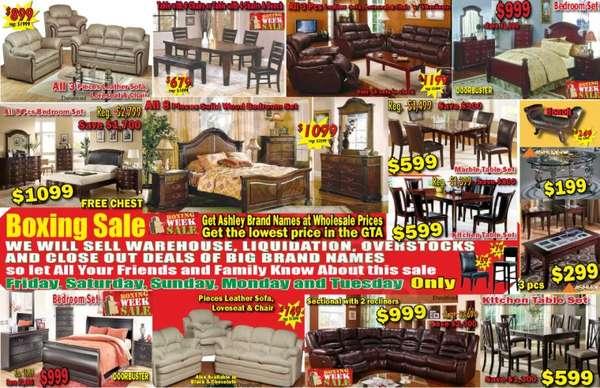 Flyer Vanaik Furniture Amp Mattress Boxing Week Flyer