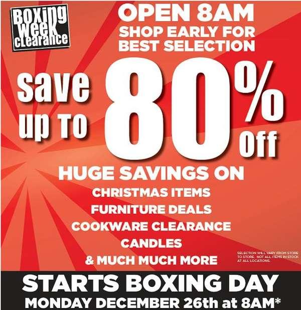Kitchen Stuff Plus Boxing Day Sale