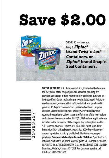 graphic regarding Ziploc Printable Coupons called Ziploc discount coupons canada 2018 / Coupon renault 2018