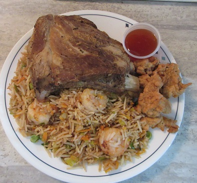 Name:  pork side ribs with shrimp fried rice and pork balls with Sweet and sour sauce.jpg Views: 30 Size:  86.3 KB