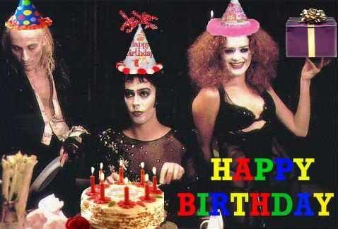 Rocky Horror Birthday Cake