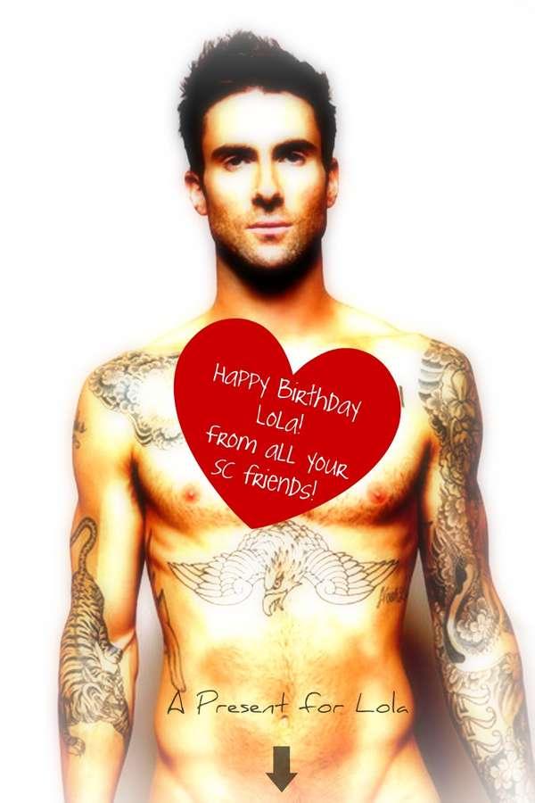 Happy Birthday Wishes For Bargainhunterlola Page - Adam levine birthday cake