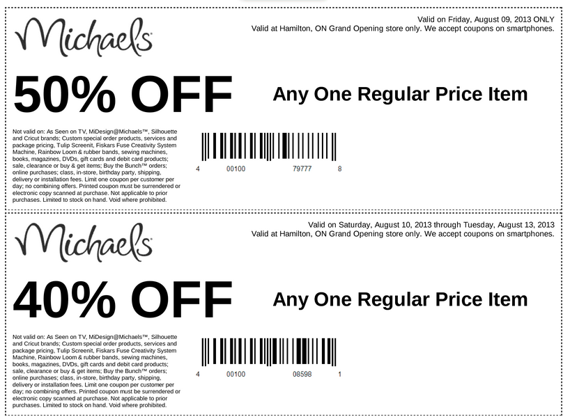 Flyer Centre On Barton Michael S Grand Opening Coupons