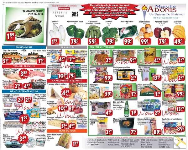 Flyer Adonis Flyer - April 2-8 2012