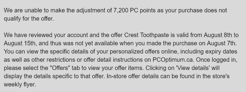 Name:  PC Optimum Mistake.PNG Views: 404 Size:  50.6 KB