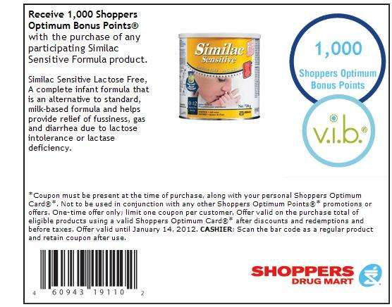 picture regarding Printable Formula Coupons known as Similac printable coupon canada - Simplest suv rent promotions 2018