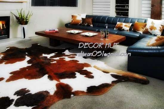 Selling cowhide rugs on sale