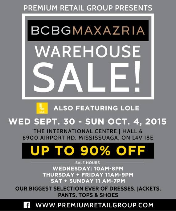 smartcanucksca flyers deals canada warehouse sales canada - Bcbg Sample Sale