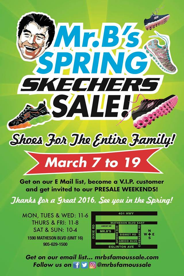 Skechers Shoe Sale Mississauga