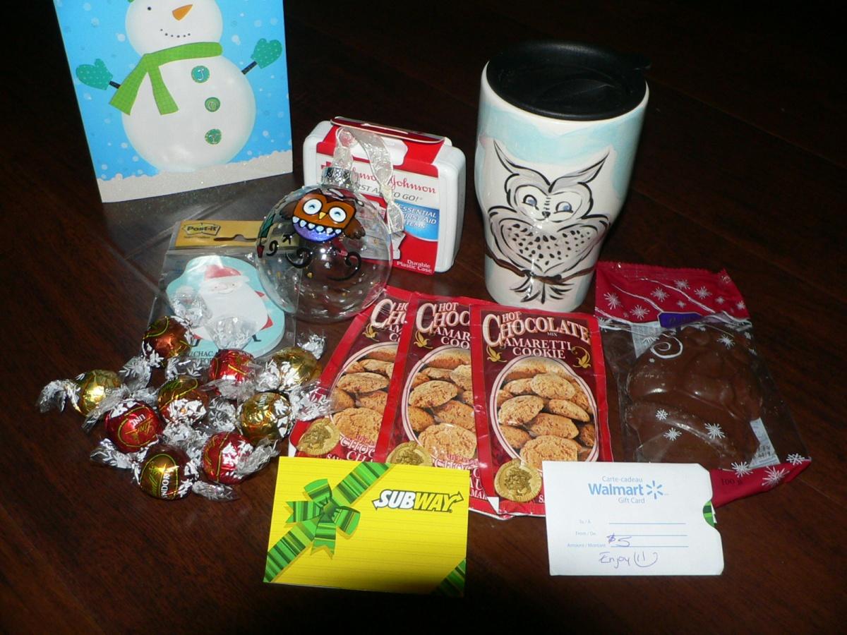 Secret Santa Gift Exchange Have a great christmas!