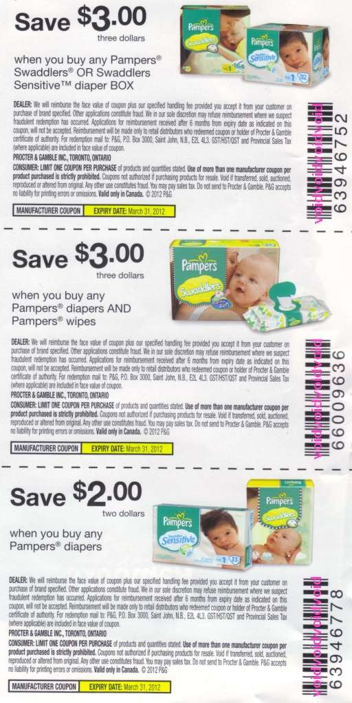 Manufacturer Coupons Mail >> Giveways Free Pampers Coupons By Mail
