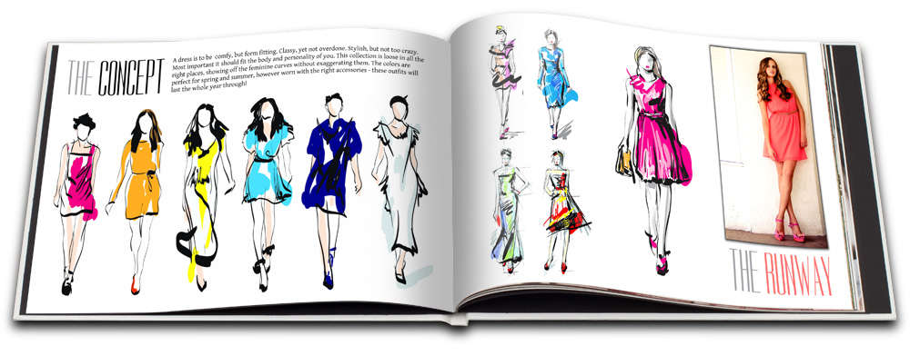 Fashion Design Portfolio Examples