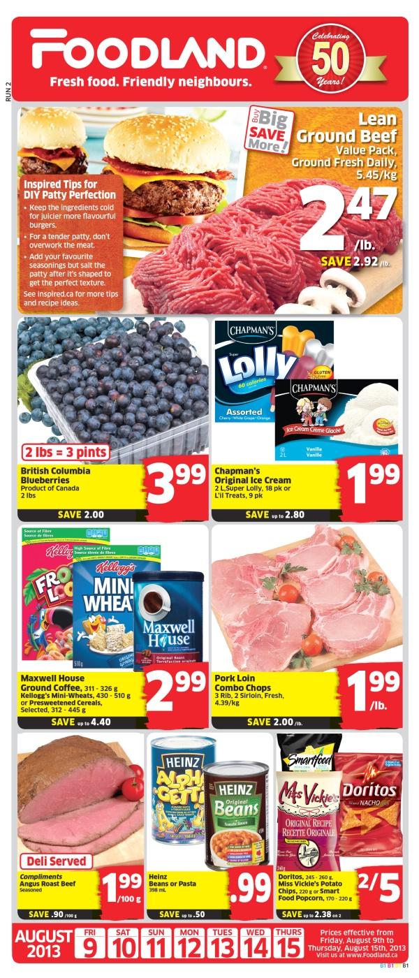 Foodland Weekly Flyer